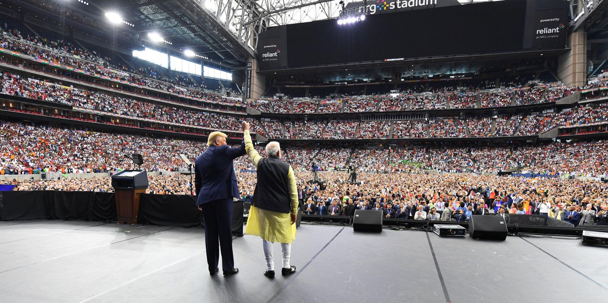 Highlights of Howdy Modi in Houston - Trump Says The USA Loves India