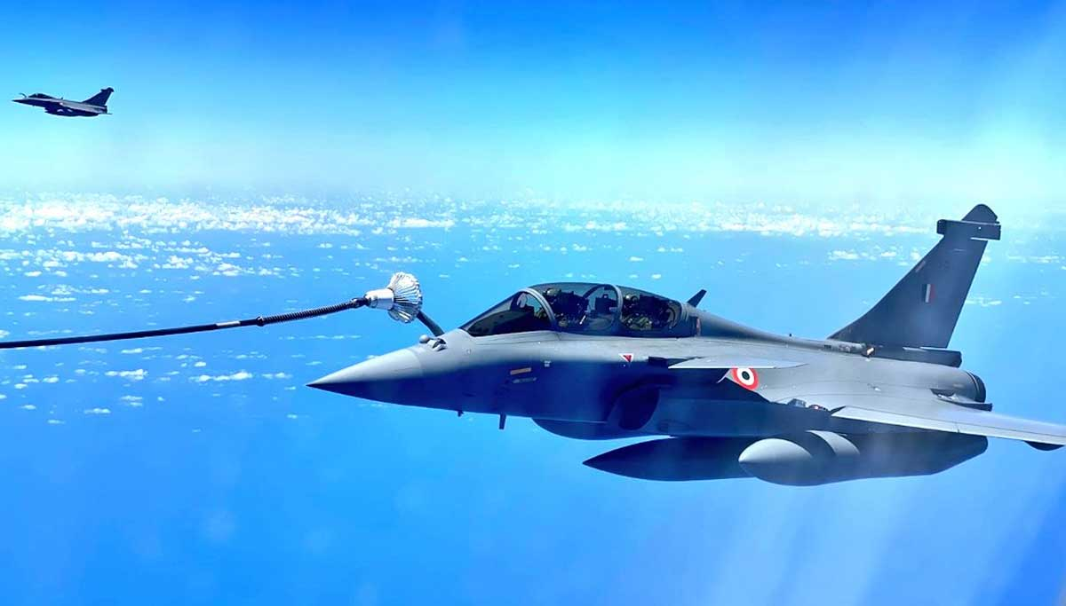 Rafale fighter jets details on the day 2 of their landing in Indian soil