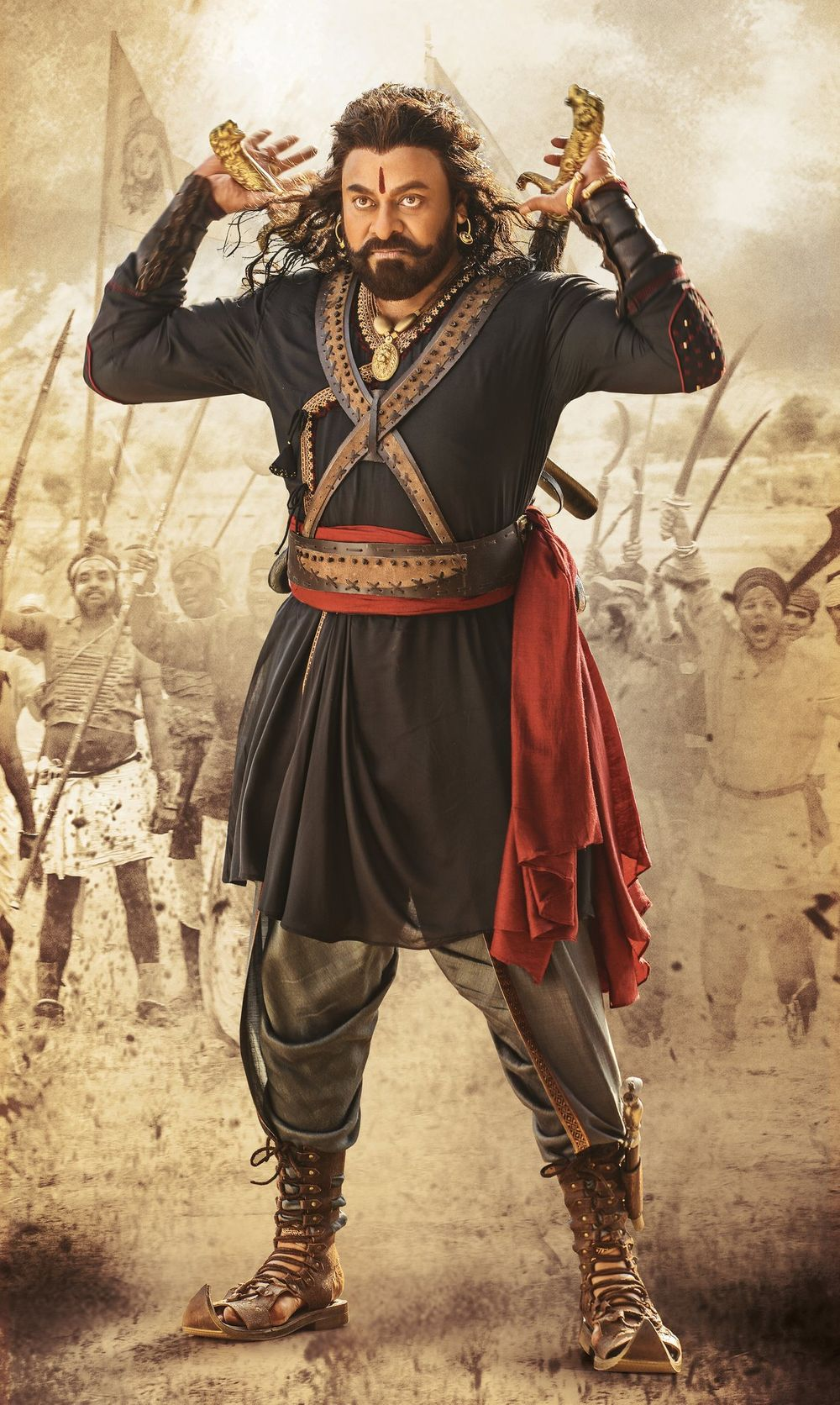 Sye Raa Narasimha Reddy Celebration Starts its battle this Gandhi Jayanthi