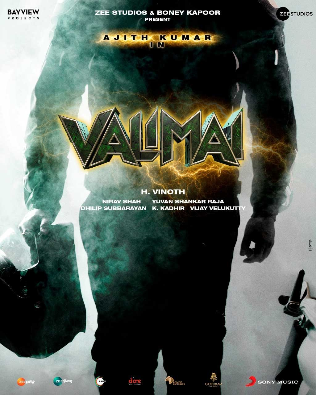 Valimai Movie Poster: Most Trending Movie News in 2021