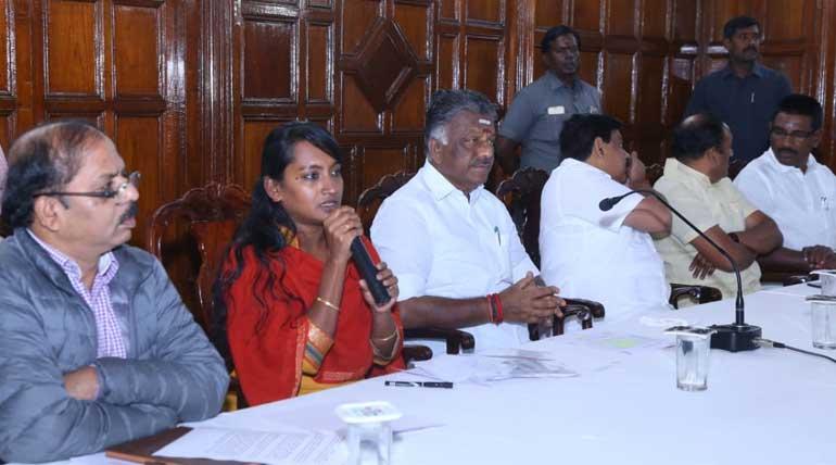 Deputy CM O Panneerselvam Visit Rain-Affected Nilgiris to speed up relief work