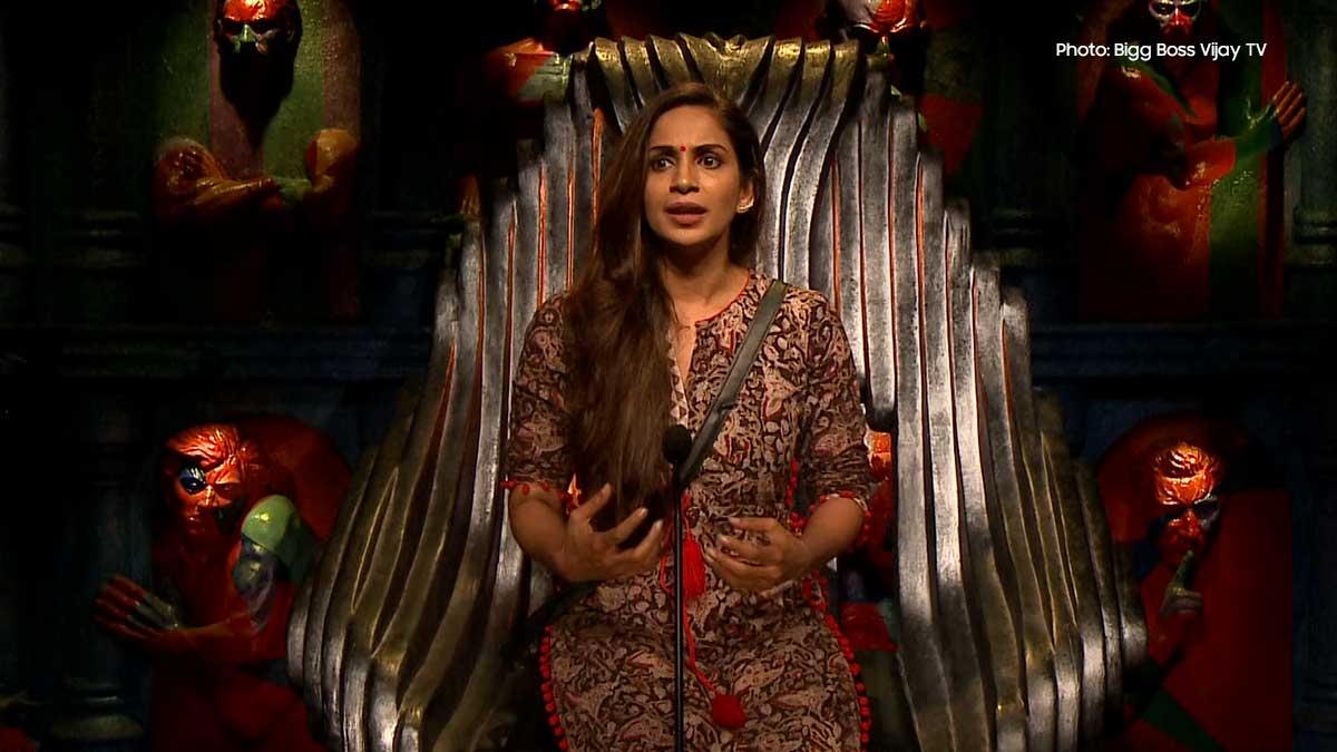 Bigg Boss Samyuktha Karthik plays a sided-game among contestants