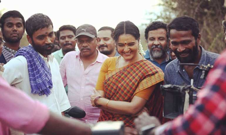 Unseen photos of Asuran movie shooting spot photos