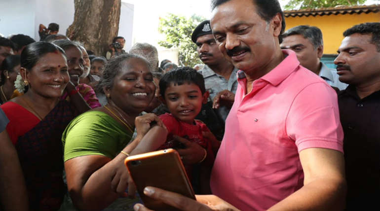 DMK President Stalin Campaign in Sulur Event Highlights