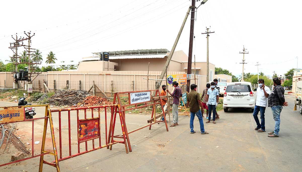 Coimbatore Bommanampalayam Area Closed: Chennai Bank Staff identified Corona Positive