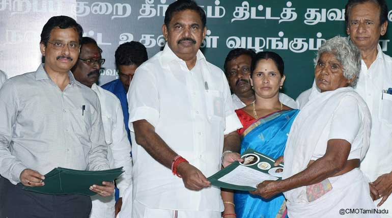 CM Edappadi K Palaniswami Receives 13,296 Petitions and Trip to Foreign