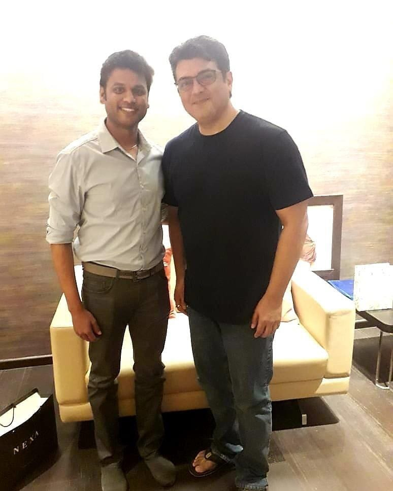 Ajith Thala60 Hairstyle Colour Changed - Young Dynamic Look in Latest Photo