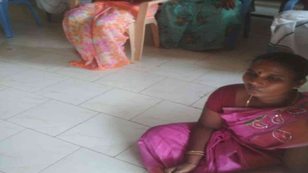 "Caste Discrimination Continues: ""You have to sit on the Floor Forever."" Female Panchayat leader 's Shocking Photo"