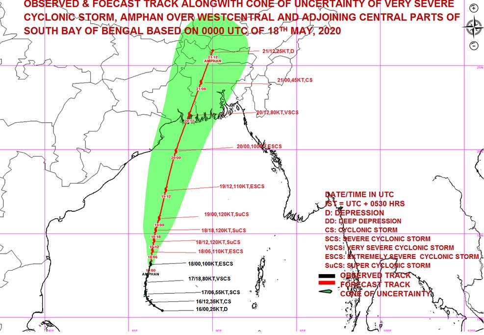 Amphan Cyclone Not a Disaster but Big Relief With Rains in Tamil Nadu