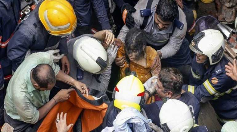 Mumbai Building Collapse Tearful Faces Emerge Out of the Debris After 18 Hours Only to Find Their Family Dead