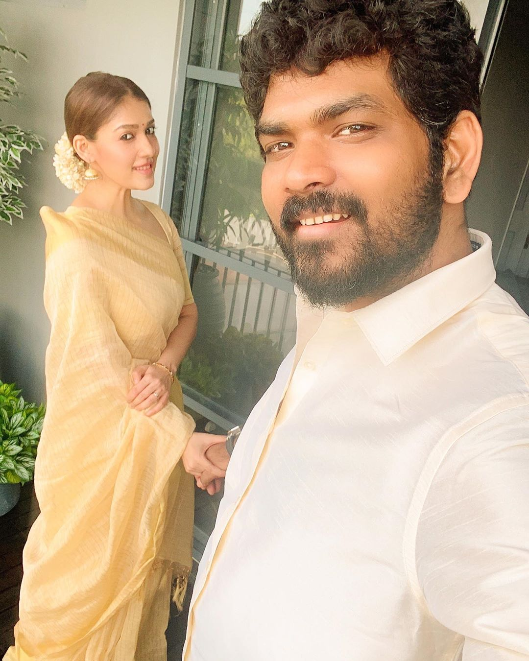 Nayanthara and Vignesh Shivan Onam Celebration Photos, Kochi