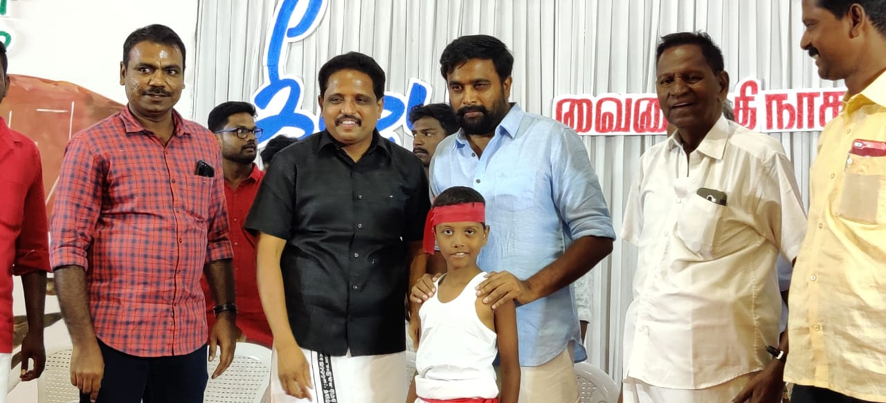 Actor Sasikumar speech in Keeladi Vaigai River Civilization Meeting in Madurai
