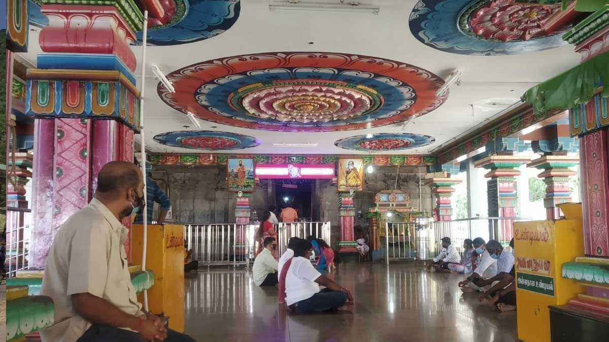 Coimbatore Maruthamalai Temple has Opened with Strict Rules