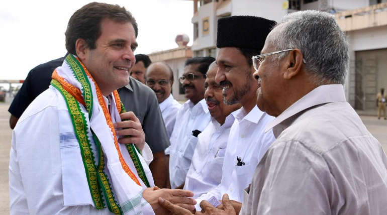 Narendra Modi Visits Thrissur and Rahul Gandhi in Wayanad for Road Show