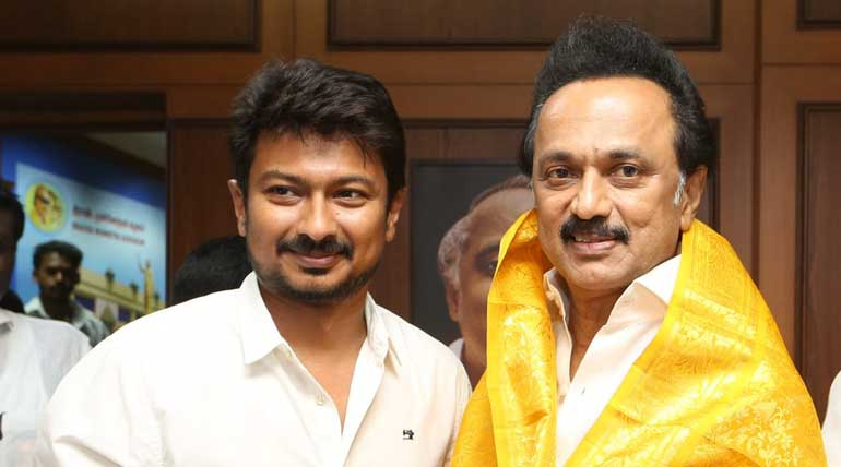 Udhayanidhi Stalin Elected Secretary to the Youth Wing of the DMK Party