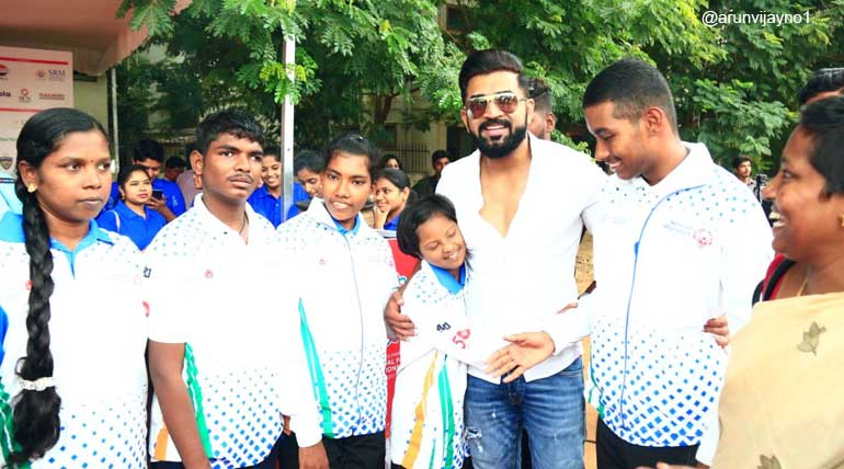 Boxer King Arun Vijay Promotes 20 Medal-Winning Boxers from Tamil Nadu