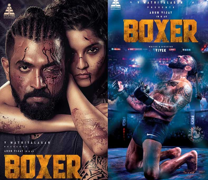 Producer Mathiyalagan Debut in Arun Vijay Boxer Movie, Sri Thenandal Films