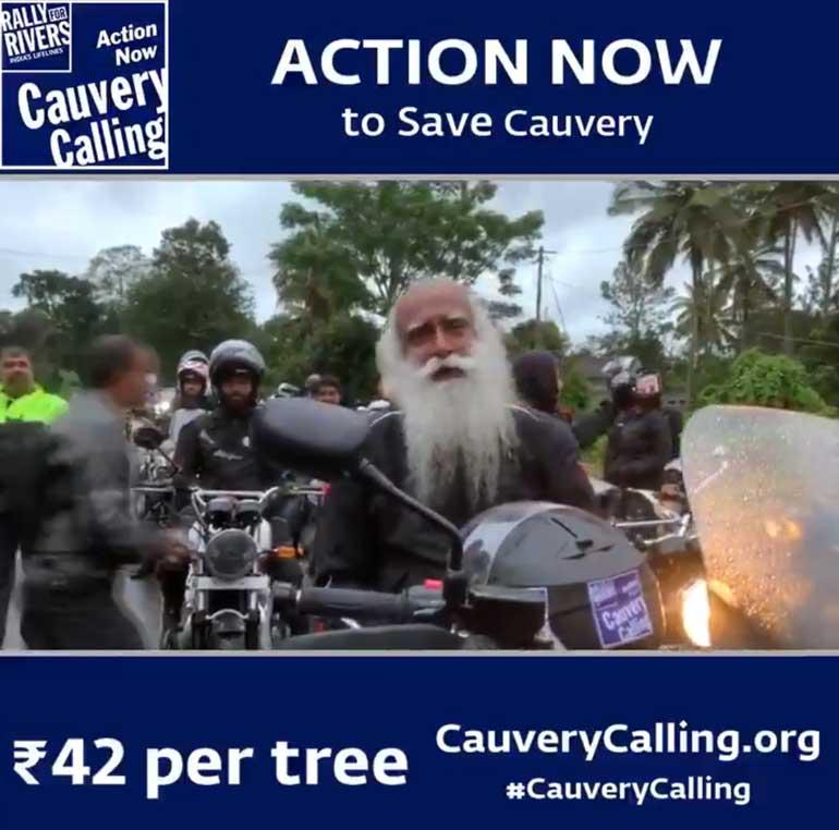 Sadhguru Calling You Through CAUVERY CALLING to Save Cauvery and Farmers