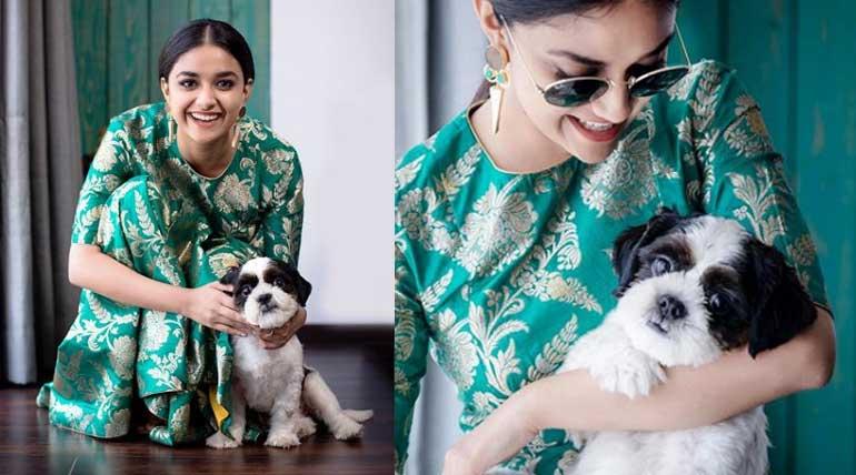 Actress Keerthi Suresh New Look is Making News Now