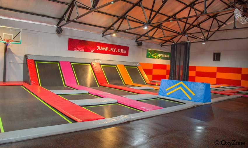 New Trampoline Park for Kids and Students in Coimbatore by OxyZone Adventure Park