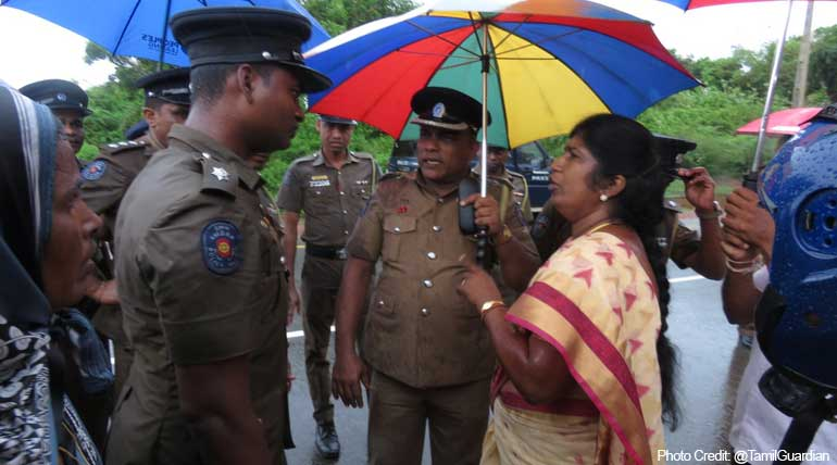 Tension in Sri Lanka Mullaitivu after the cremation of a Buddhist monk in Hindu temple against court orders