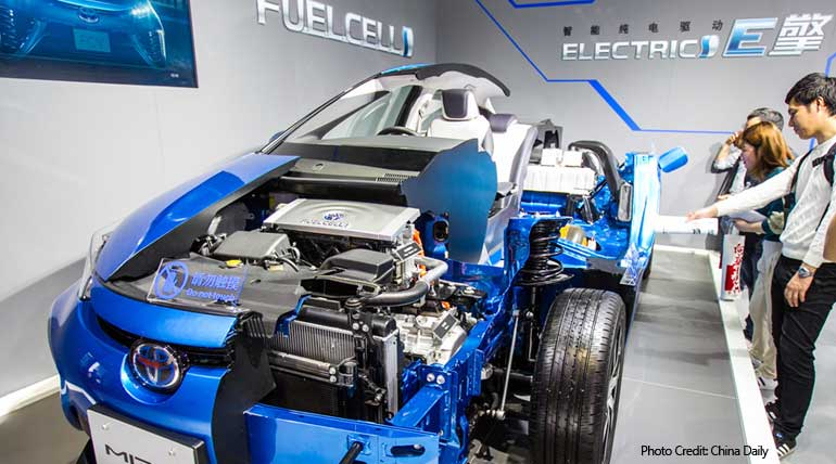 Hydrogen fuel vehicles in India: Action against Pollution