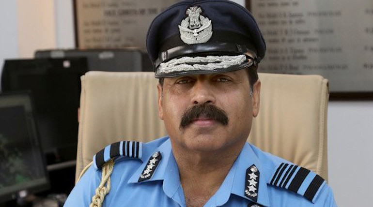 Air Marshal RKS Bhadauria replaces BS Dhanoa as IAF chief from October 1st