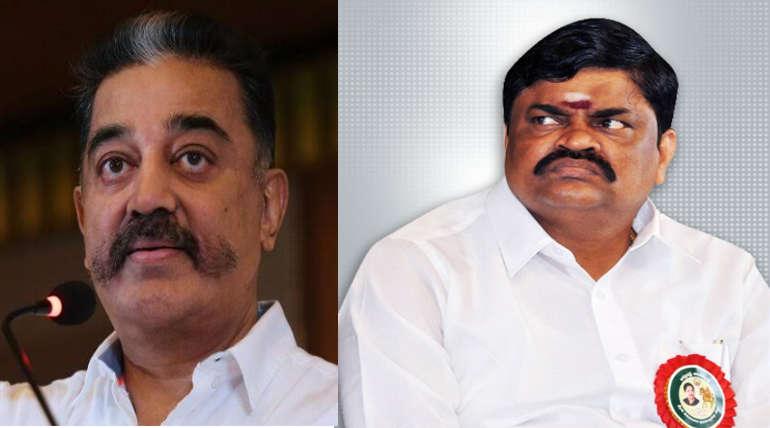 Rajendra Balaji Said Kamal Haasan Tongue Should be Cut Off