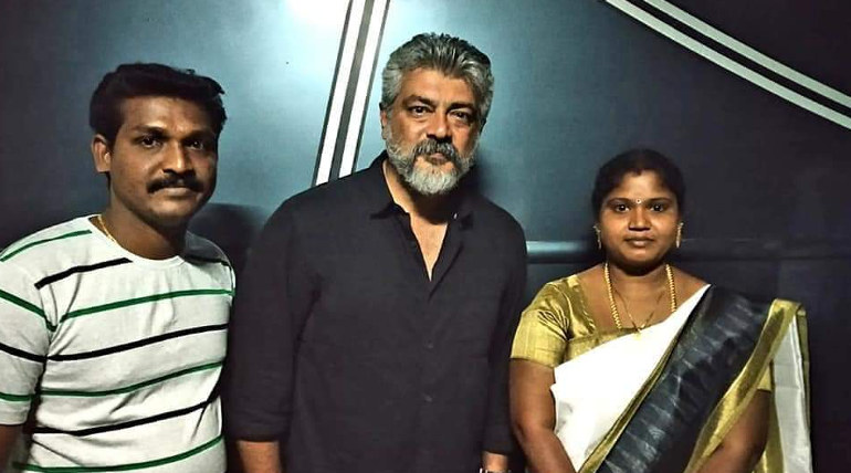Thala Ajith at NKP Sets