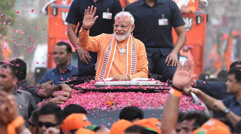 Lok Sabha Elections 2019: BJP Leads