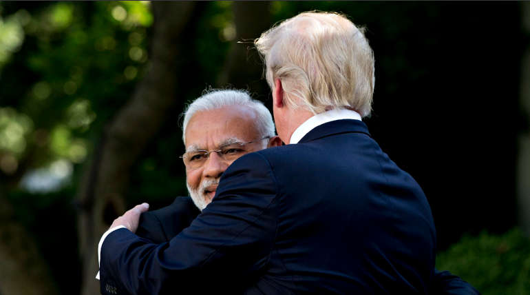 Donald Trump Congratulates Modi