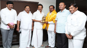 DMK President Stalin Meeting with ChandraSekhar Rao