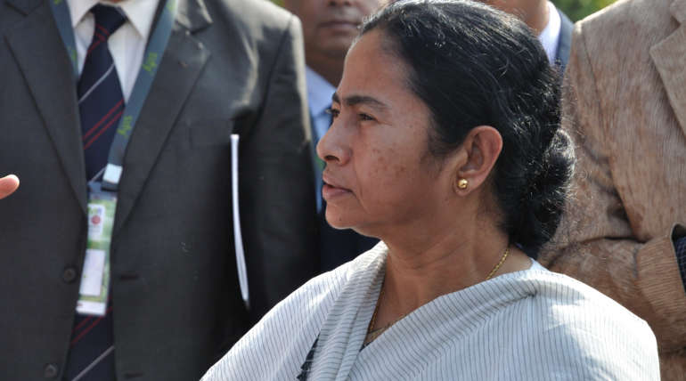 Mamata Banerjee attend Modi swearing-in ceremony