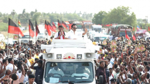 DMK President Stalin Campaign in Aravakurichi