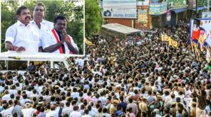 Tamilnadu CM Edappadi Palanisamy Speech in Sulur