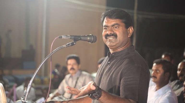 Roaring of Naam Tamiliar Party Seeman