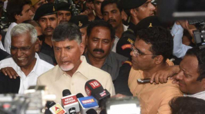 Chandrababu Naidu resigns and Jagmohan Reddy supersedes
