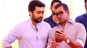 Selvaraghavan with Suriya on NGK Sets