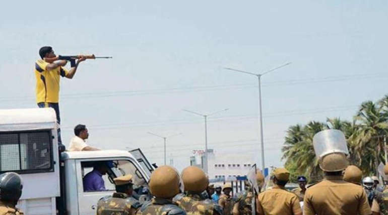 First Anniversary of Sterlite Protest Shootings
