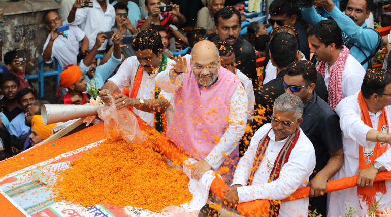 Amit Shah in West Bengal Rally