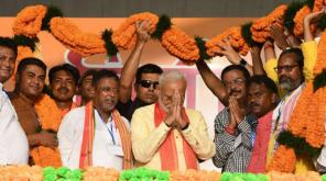Narendra Modi in West Bengal Campaign
