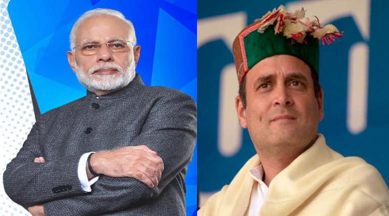 Narendra Modi and Rahul - Most active politician in social medias