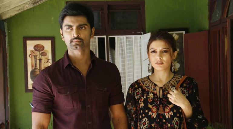 Atharva Hansika starrer 100 Tamil film