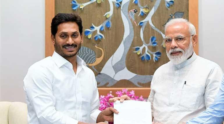 YSR Leader Met PM Narendra Modi