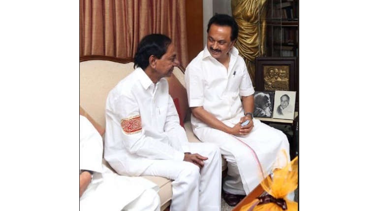 KCR Stalin Meeting