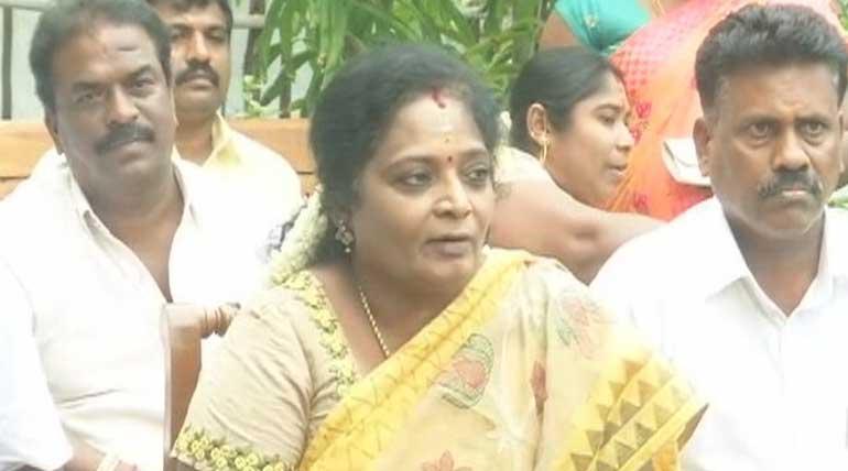 Tamilisai Soundararajan Thanked voters