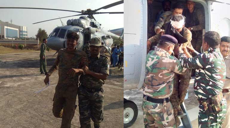 Jharkhand Bomb Blasts. Img ANI
