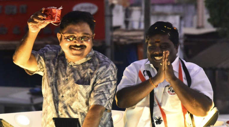 AMMK Leader TTV Dinakaran in Ottapidaram Campaign