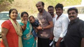 Darbar Movie Superstar Rajinikanth with Fans