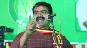 Naam Tamizhar Katchi Leader Seeman